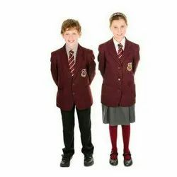 Red School Uniform Blazer