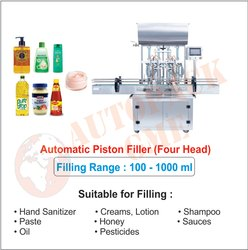 Automatic Tomato Sauce Filling Machine / Hand Sanitizer Filling Machine