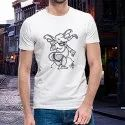 Ganesha Printed Cotton T-Shirt