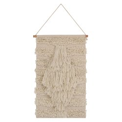 White Acrylic and Cotton decorative Boho Home Wall Decor wall Hanging