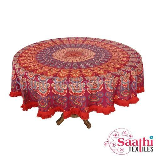 Printed Tablecloths, Size: 165 Cm