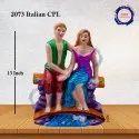 Italian Couple Multi Color