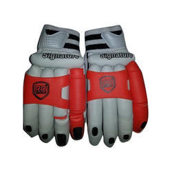 Leather Batting Gloves, Packaging Type: Box