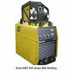Esab IGBT 500 Amps Mig Welding machine