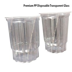 Premium PP Disposable Transparent Glass
