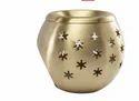 Kriti Brass Diffuser Ball Star Aroma Oil Burner