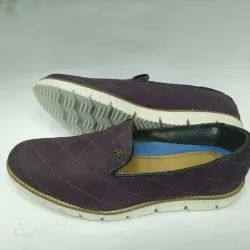 Purple Loafer Shoes, Size: 7 - 10