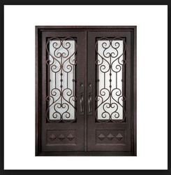 Iron Doors, sheet gate steel window