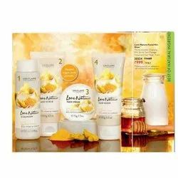 Oriflame Milk and Honey with Turmeric Facial Kit