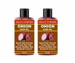 Health Ayurveda Onion Oil For Hair Regrowth 200ml