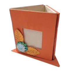 Paper Pen Stand With Frame, Size: 5