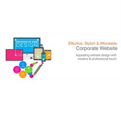 HTML5/CSS Responsive Corporate Website Designing Service, With 24*7 Support