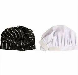 White,Black Cotton Chef Cap, For Hotel, Handwash