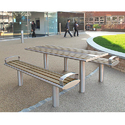 S.S. Outdoor Picnic Bench with Table