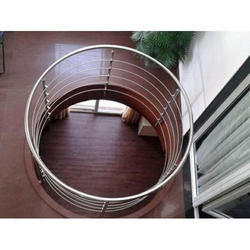 Stainless Steel Round Railing