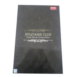 Raymonds Cotton Solitaire Club Mens Shirt Trouser Fabric