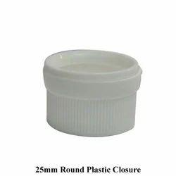 25mm Round Plastic Closure