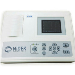 Nidek 3 Channel ECG Machine