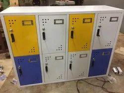 8 Compartment Storage Locker