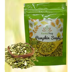 Karmayog Green Pumpkin Seed, For Personal,Agricultural, Packaging Size: Pp Bag
