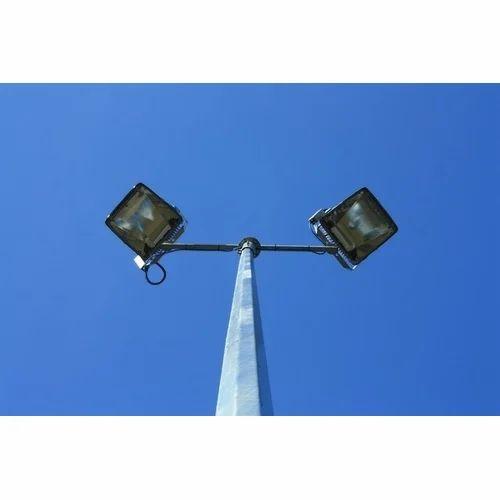 GI Octagonal Street Pole