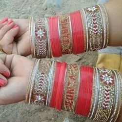Personalised Bangles With Chura