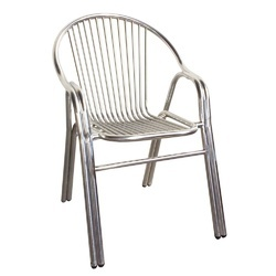 Delicieux Gray Stainless Steel 304 Chair