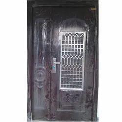 Exterior Mild Steel Swing Door, Thickness: 70 Mm, for Home