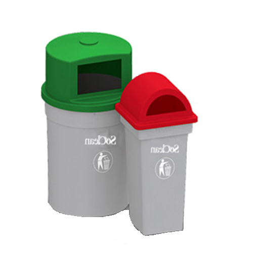 SoClean Plastic Waste Containers, Height: 450mm