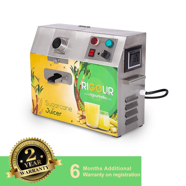 Rigour Sugarcane Juice Machine, 120 kg/hr, 0.5 hp