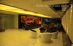 Hotel LED Interior Ceilings