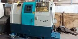 Used And Old CNC Turning Lathe Make-Feeler Ftc-20 Chuck 250 Mm Length 350 Mm Available In Stock