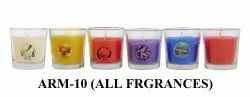 Glass Candle Perfumed