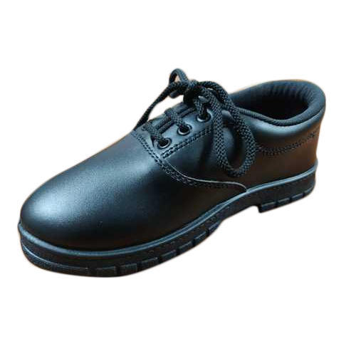 Black Children School Shoes, Size: 8-10