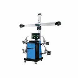 Manatec 3D Fox V Wheel Alignment Machine