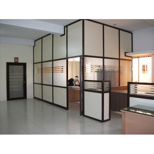 Designer Aluminium Office Partition At Rs 150 Square Feet
