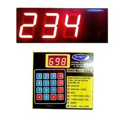 Numeric Token Display System