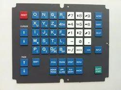 Fanuc Operator Membrane Keypad A98L-0001-0568#M Fanuc OM Series