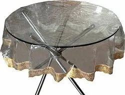 Round PVC Table Cover, Size: 60x60 Inches
