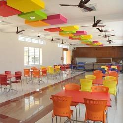 Office Canteen Interior Designing, Workplace Canteen
