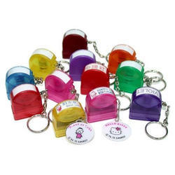 Keychain Hand Stamp, Packaging Type: Box