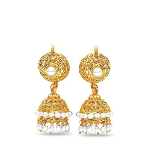 gold jewellery ladies gold earring retailer from delhi