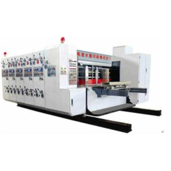Lead edge Printing Slotting And Die Cutting Machine