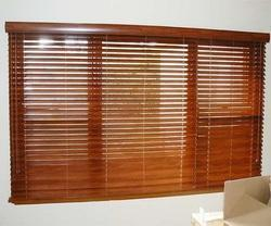 String Type Wooden Venation Blind