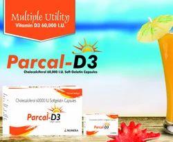 Cholecalicefrol 60,000 I.U D3 Capsules