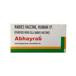 Abhayrab Injection for Purified Vero Cell Rabies Vaccine, Packaging Type: Vial+box
