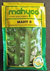 Mahyco Bottle Gourd Mahy-8 for Growing , Pack Size: 50g