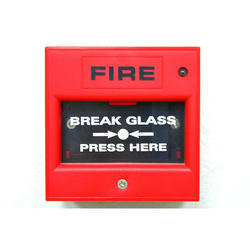 Red Break Glass Fire Alarm