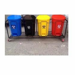 Biomedical Waste Bin With Frame