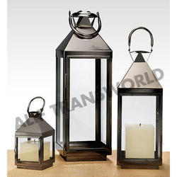 Iron And Steel Wedding Lanterns